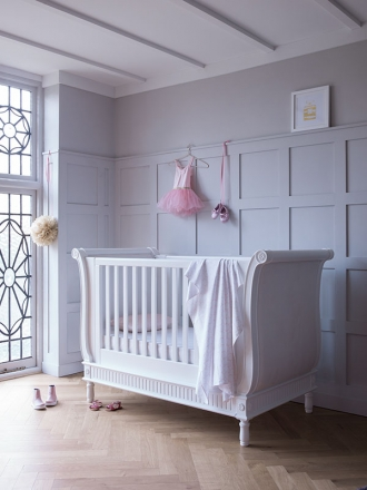 Belle Sleigh Cot Bed