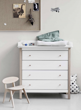 Oliver Furniture dresser and baby changer