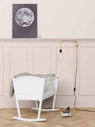 Oliver Furniture Seaside Cradle in pink nursery