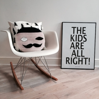 Eames chair in kids room