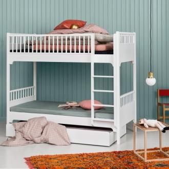 Bunk Beds in green bedrom