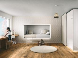 Bespoke wall mounted bed