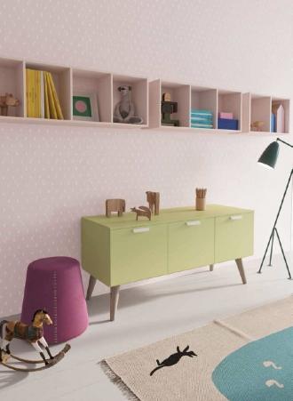 pink playroom storage, storage in girls bedroom