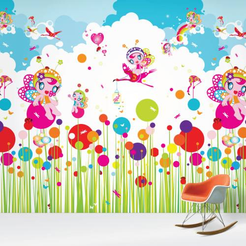 flower fairies wallpaper