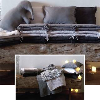 Shades of Grey nursery and junior bed linen