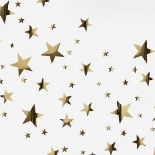 Gold Mirror Stars Wall Stickers